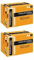 20 X Duracell AA Industrial Battery MN1500 Alkaline Replaces Procell Expiry 2023