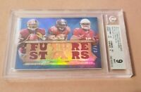 Griffin, Martin, Floyd RC 2012 Topps Tri Threads Relics Sapphire 1/3 BGS 9