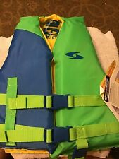 New W/ Tags Stearns Fluid Aquatics Youth Size Life Jacket Ski Vest 30-50 Pounds