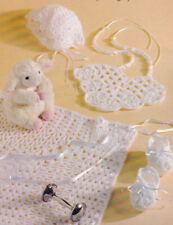 R2936 Vintage Mail Order PINEAPPLE BABY SET Pattern to Crochet Reproduction