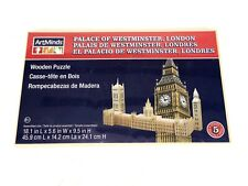 ArtMinds Wooden 3D Puzzle NEW SEALED Palace of Westminster, London England