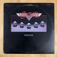 Aerosmith- Rocks- Vinyl Record Album LP Original (1976 Columbia PC 34165)