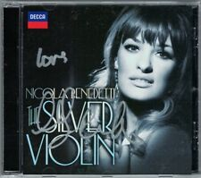 Nicola BENEDETTI Signed THE SILVER VIOLIN Korngold Concerto Schindler's List CD