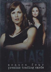 2004 Inkworks Alias Season Four Promo Card P2 Sidney Jennifer Garner