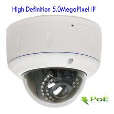 5MP PoE ONVIF 2592x1920P 2.8-12mm Varifocal Zoom Dome Security Camera (IP. wifi