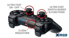 PS3  SEND-IN SERVICE, MODDED CONTROLLER OFFICIAL NEW MOD KIT PRO @ XMOD 100 MODE