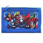 Brand New Marvel Avengers Wallet Tri Fold Kids NWT- BLUE