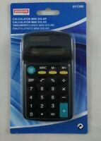 Calculatrice Solaire de Poche Mini Calculette sans Pile 11 x 6,5 cm