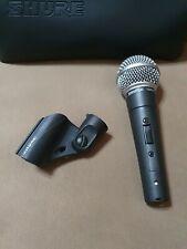 Mikrofon Shure SM58  Gesangsmikrofon + Original Halterung +  Original Tasche