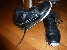 Nike Black Basketball Sneakers High Top Ankle Support Size 5.5 5 1/2