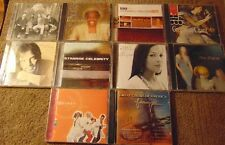Lot of 10 Assorted CCM / Gospel CDs - Cece Winans  Church of Rhythm  Shine MK +