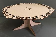 F311 HUGE Wedding Day Birthday PARTY Cake Stand Placement Decoration MDF Cupcake