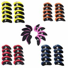 10 Pcs/set Neoprene Golf Iron Club Head Covers  Ping New