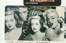 All About Eve - Bette Davis - Marilyn Monroe Rare Phone Card