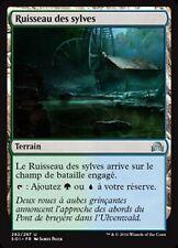 MTG Magic SOI - (x4) Woodland Stream/Ruisseau des sylves, French/VF