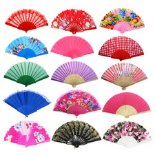 Wholesale Lot 10, 30, 50 Pces New Assorted Hand Fans - Free Shipping