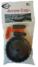 Black Whisker Biscuit Arrow Cap for THEPOCKETSHOT Tactical Slingshot  * USA