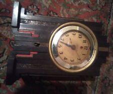 Vintage Art Deco Bakelite Telechron Clock