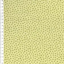 "(€ 18,00/m) patchwork de tela - ""Refresh"" trozos de metal - 25 x 110cm"