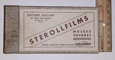 VINTAGE STEREOVIEWS ROLLAND STEROLLFILMS GUILLEMINOT BOX Rolland Paris