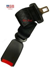 "Extension 14"" Seat Belt Black Extender Belt Extension With Buckle"