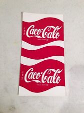 Rare CACO CALO decal Sticker Can Wrap. Prank COCA COLA TRICK-Mark