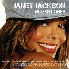 JANET JACKSON Number Ones - Icon - CD Album Damaged Case