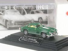 Top: Wiking modello pubblicitari Mercedes 300 SL VERDE SCURO Veterama 1995 IN SCATOLA ORIGINALE