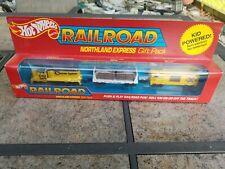 Mattel 1983 Hot Wheels Railroad Trains Original Box Northland Express