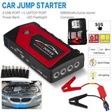69800mAh Portable 12V Car Jump Starter USB Power Bank Battery Booster Clamp NEW