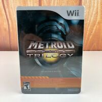 2009 Metroid Prime Trilogy: Collector's Edition Steelbook Nintendo Wii NEW Read