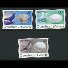 GRENADINES of ST VINCENT 1978 Birds. SG 116, 120, 126. Mint Never Hinged (AT575)