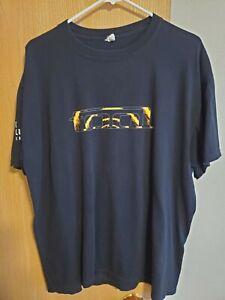Rare TOOL Flaming Man Spiral T Shirt XL