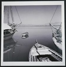 HERBERT LIST - ESTATE STAMPED MAGNUM 6 X 6 BOATS IN A HARBOR ARCHIVAL PRINT