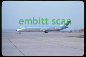Original Slide, SAS Scandinavian Airlines Douglas DC-9-41 (OY-KGS), in 1979