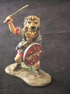 CONTE ROMAN LION HEAD SIGNIFER RARE QC SET FROM CONTE COLLECTORS CLUB