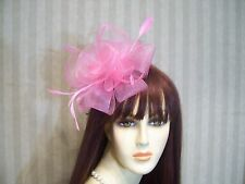 Kentucky Derby Fascinator, PiNk Hat, Belmont Hat, Preakness, Wedding Hat, TeA