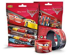 "Disney CARS 3 - 1x Mini Slap-Snap-Bands - Sortiert - "" SAMMEL ALLE 12 """