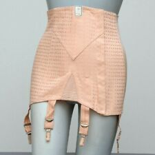Authentic 1950s MINERVE BALEINAGE OPEN BOTTOM GIRDLE Skirt 4 Garter NOS