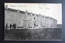 Cartolina originale viaggiata 1901 Piemonte MONCENISIO Albergo Alasia