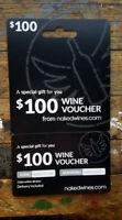 $100.00 NAKEDWINES.COM Wine Voucher GREAT GIFT!!!
