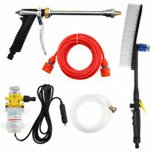 DC&12V 100W 160PSI High Pressure Car Washer Cleaner Water Wash Pump Sprayer Kit