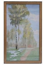 Birken - Aquarell