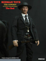 REDMAN TOYS RM034 1/6  The West Cowboy Male Action Figure Set Model Toy The Bad