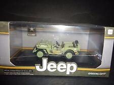 Luz Verde willy's Jeep MB 1944 Ejército de ESTADOS UNIDOS 1/43