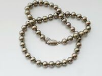 "Beautiful Vintage MAJORICA17.5""  Faux PEARL Single Strand Necklace"