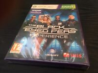 Xbox 360 Kinect The Black Eyed Peas Experience (Makers Of Just Dance) NEW/SEALED