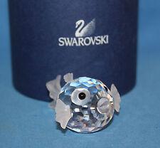 Swarovski #13960 Miniature Blowfish Brand Nib Rare Crystal Cute Aquatic Free Sh
