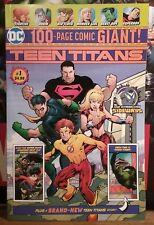 TEEN TITANS #1 ( 2018 DC ) 1ST APP OF DISRUPTOR & SIDEWAYS NM  !!! HTF WAL-MART