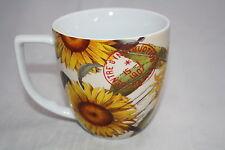 Akzente Nature Becher 360ml Sunflower Wächtersbach 0,36L Tasse Sonnenblumen 1.W